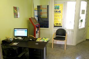 В офисе установлен терминал для безналичной оплаты туров