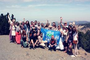 Рекламный тур, Кипр, апрель 2014. 2000 метров над уровнем моря. Горная цепь Троодос на расстоянии всего 18 км от самой высокой горной вершины Кипра - Олимпа.