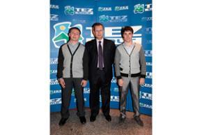 С генеральным директором TEZ TOUR В.В. Каганером