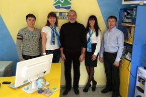 С директором представительства TEZ TOUR в Иркутске И.А. Лиманским