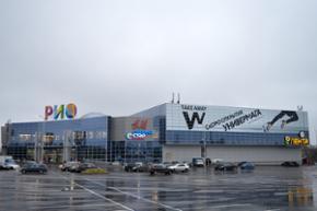 """Наш офис находится в ТРЦ """"РИО"""", расположенном на Киевском шоссе в 1,5 км от МКАД в направлении международного аэропорта """"Внуково"""""""